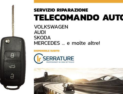 Riparazione telecomando auto (Volkswagen, Audi, Mercedes …)