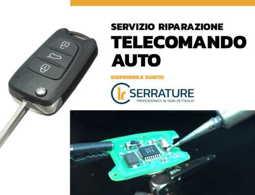 Riparazione telecomando auto