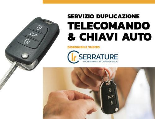 Duplicazione chiavi auto: le procedure per ottenerle