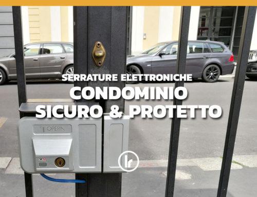 Installazione di Serrature Elettroniche Opera Gate Lock per porte e cancelli condominiali