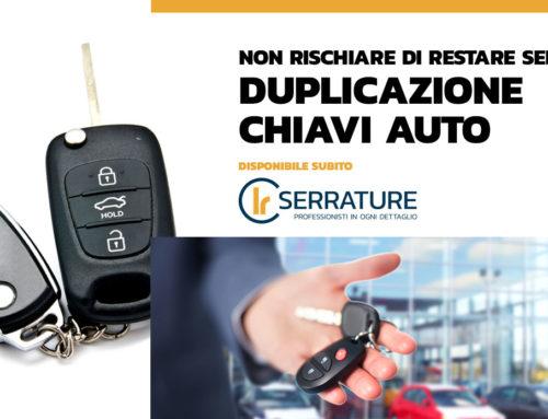Esperti nella duplicazione chiavi auto & scooter a Milano