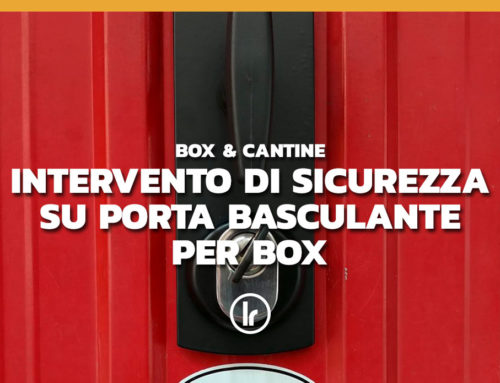 Serratura di sicurezza su serranda box