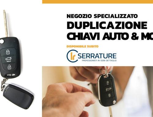 Duplicazione chiavi & telecomandi auto