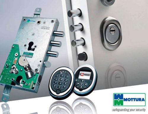 Mottura: serrature elettroniche motorizzate Xmode