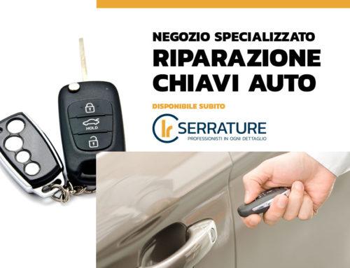 Duplicazione e riparazione chiavi auto, moto e scooter codificate a Milano