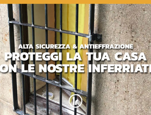 Proteggi la tua casa con le nostre inferriate!