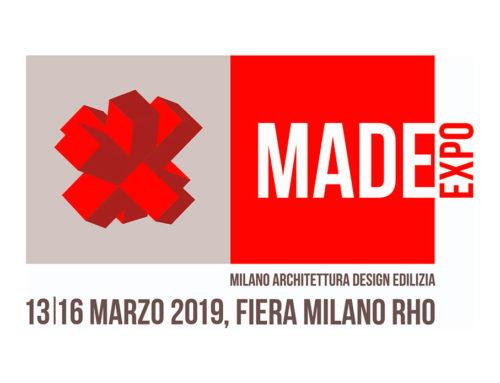 MADE expo 2019: la Fiera Internazionale dell'architettura e delle costruzioni