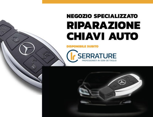 Servizio di riparazione & duplicazione chiavi auto Mercedes Benz