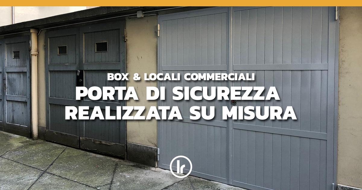 Ante Su Misura Milano.Porta Di Sicurezza A Due Ante Realizzata Su Misura A Milano Lr