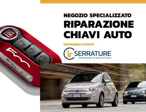 Servizio di riparazione & duplicazione chiavi auto Fiat