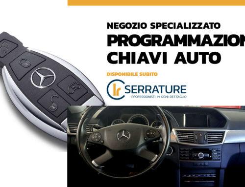 Mercedes Benz: programmazione chiave con telecomando