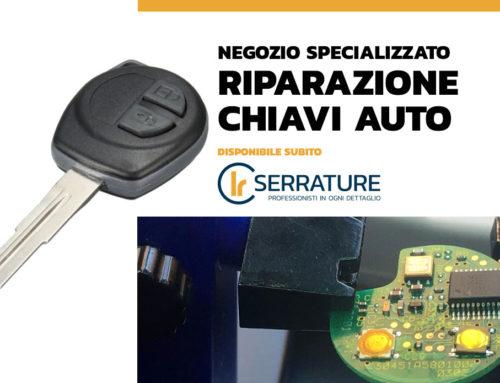 Riparazione & duplicazione chiave – telecomando Fiat
