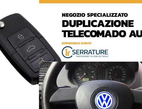 Duplicazione chiave con telecomando Volkswagen Polo a Milano