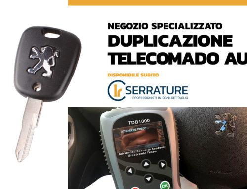 Duplicazione chiavi auto codificate a Milano