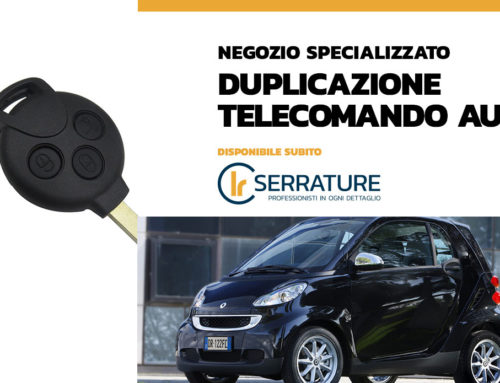 Smart 451: duplicazione telecomando e cancellazione chiave