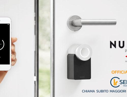 Nuki Smart Lock by Cisa: apriporta automatico con Bluetooth, HomeKit, Alexa e Google!