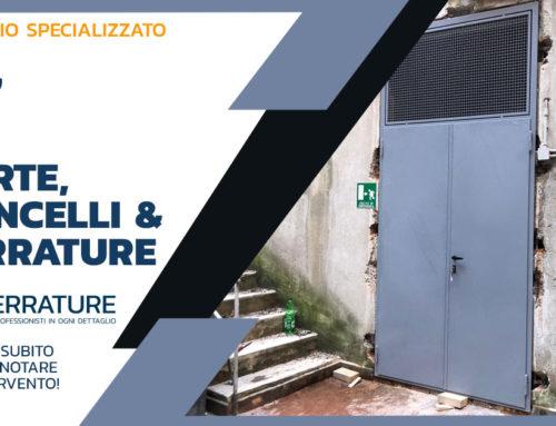 Porte e portoni in ferro a Milano e provincia