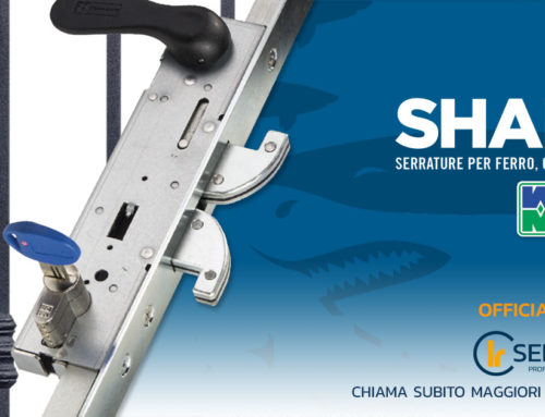 Mottura Shark: serrature antisollevamento di massima sicurezza