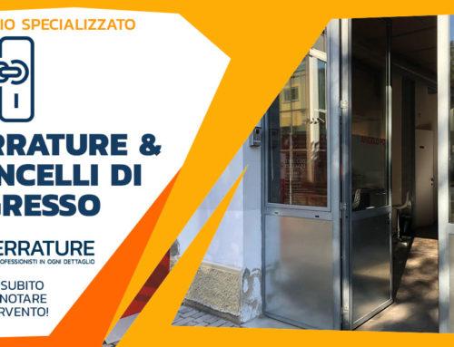 Modifica serramento in ferro in zona Tortona a Milano