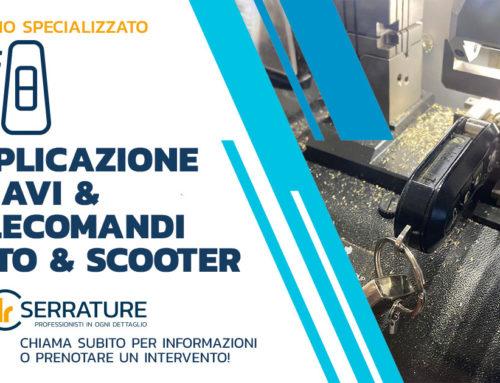 Duplicazione telecomando originale smarrito Lancia Y 2014