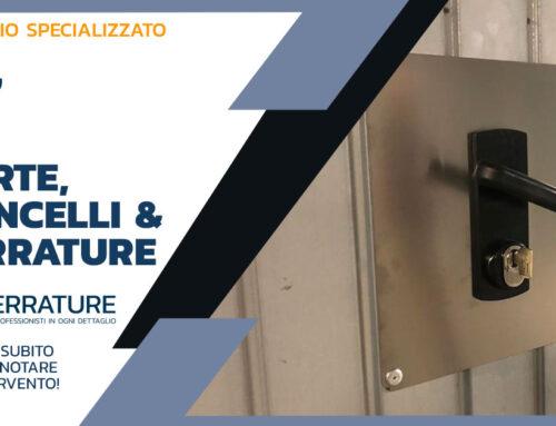 Fornitura e posa a Milano di nuova serratura su porta basculante per box