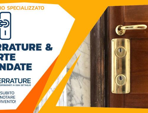 Rinnovamento e aggiornamento porta blindata e serrature di sicurezza
