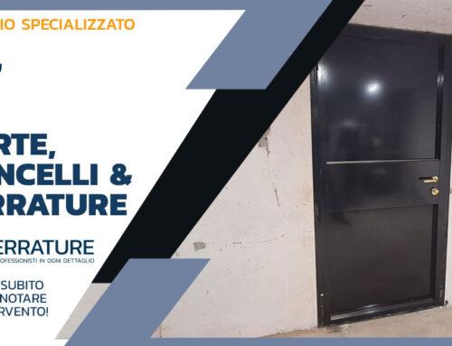 Realizzazione di porte in ferro per cantine a Milano
