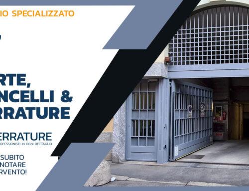 Produzione, installazione e manutenzione di porte e portoni in ferro battuto e zincato
