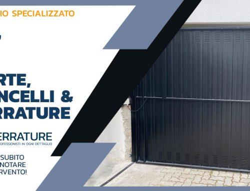 Produzione e installazione porte basculanti garage e box